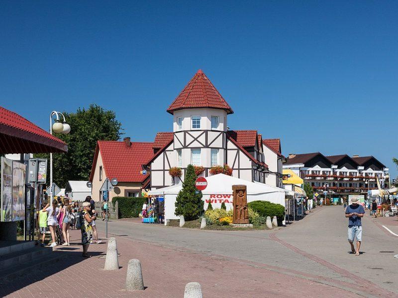 Centrum miasta Rowy